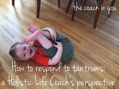 Tantrums: A Different Perspective